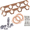 Mr. Gasket 7161K - JEGS/Mr. Gasket/ARP Copper Exhaust Gasket and Stainless Stud Kits