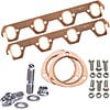 Mr. Gasket 7161K1 - JEGS/Mr. Gasket/ARP Copper Exhaust Gasket and Stainless Stud Kits