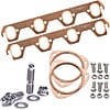 Mr. Gasket 7161K2 - JEGS/Mr. Gasket/ARP Copper Exhaust Gasket and Stainless Stud Kits