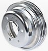 Mr. Gasket 8830 - Mr. Gasket Chrome-Plated Steel Pulleys