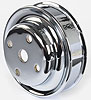 Mr. Gasket 8832 - Mr. Gasket Chrome-Plated Steel Pulleys