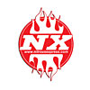Nitrous-Express-NX-Round-Logo-Sticker-with-Flames