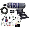 Nitrous Express 30240-12 - Nitrous Express Conventional Stage 6 Nitrous Plate System