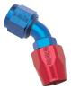 Russell 610080 - Russell AN Hose End Fittings - Red/Blue