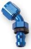 Russell 624090Russell AN Twist-Lok Hose End Fittings - Blue