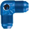 Russell 640790 - Russell AN Male to AN Male Union Fittings with Pressure Gauge Port