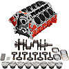 Chevrolet Performance 19260093K - Chevrolet Performance LSX Series Engine Blocks