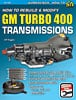 SA Design SA186 - SA Design Books: How to Rebuild & Modify GM Turbo 400 Transmissions