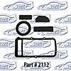 SoffSeal 2112 - SoffSeal Heater and A/C Seals/Gaskets/Hoses