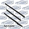 SoffSeal 23342 - SoffSeal Weatherstrip Kits For Convertible Tops