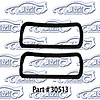 SoffSeal 30513 - SoffSeal Tail Light & Marker Light Seals/Gaskets