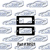 SoffSeal 30521 - SoffSeal Tail Light & Marker Light Seals/Gaskets