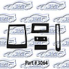 SoffSeal 3064 - SoffSeal Heater and A/C Seals/Gaskets/Hoses