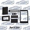 SoffSeal 3065 - SoffSeal Heater and A/C Seals/Gaskets/Hoses