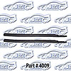 SoffSeal 4009 - SoffSeal Window Glass Seals - Chevy/GMC