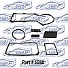 SoffSeal 5088 - SoffSeal Heater and A/C Seals/Gaskets/Hoses