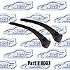 SoffSeal 8003 - SoffSeal Window Glass Seals - Chevy/GMC