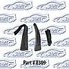 SoffSeal 8309 - SoffSeal Window Glass Seals - Chevy/GMC