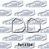 SoffSeal 9341 - SoffSeal Tail Light & Marker Light Seals/Gaskets