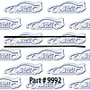 SoffSeal 9992 - SoffSeal Window Glass Seals - Chevy/GMC