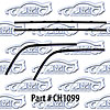 SoffSeal CH1099 - SoffSeal Window Glass Seals - Ford/Dodge