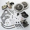 SSBC A126-71 - Stainless Steel Brakes Single Piston Front Drum-to-Disc Brake Conversion Kit