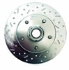 Stainless Steel Brakes 23071AA3R - Stainless Steel Brakes Big Bite Cross-Drilled and Slotted Rotors