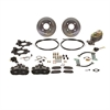 SSBC A112-1BK - Stainless Steel Brakes Single Piston Rear Drum to Disc Brake Conversion Kits