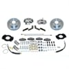 SSBC A117 - Stainless Steel Brakes Single Piston Rear Drum to Disc Brake Conversion Kits
