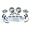 SSBC A118 - Stainless Steel Brakes Single Piston Rear Drum to Disc Brake Conversion Kits