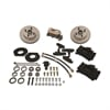 SSBC A120-4 - Stainless Steel Brakes Single Piston Front Drum-to-Disc Brake Conversion Kit