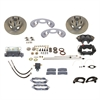 SSBC A121 - Stainless Steel Brakes Cast Iron Front 4-Piston Drum to Disc Brake Conversion Kit