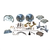 SSBC A123-3 - Stainless Steel Brakes Single Piston Front Drum-to-Disc Brake Conversion Kit