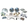 SSBC A123-4 - Stainless Steel Brakes Single Piston Front Drum-to-Disc Brake Conversion Kit