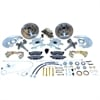 Stainless Steel Brakes A123 - Stainless Steel Brakes Single Piston Front Drum-to-Disc Brake Conversion Kit