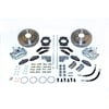 Stainless Steel Brakes A125-3 - Stainless Steel Brakes Single Piston Rear Drum to Disc Brake Conversion Kits
