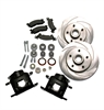 SSBC A126-10 - Stainless Steel Brakes Front Disc Upgrade Kits - Trucks