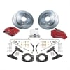 SSBC A126-3R - Stainless Steel Brakes Super TKR1 Single-Piston Rear Drum to Disc Brake Conversion Kits