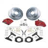 SSBC A126-4R - Stainless Steel Brakes Super TKR1 Single-Piston Rear Drum to Disc Brake Conversion Kits