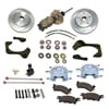 SSBC A129-2 - Stainless Steel Brakes Single Piston Front Drum-to-Disc Brake Conversion Kit