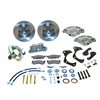 SSBC A129-4 - Stainless Steel Brakes Single Piston Front Drum-to-Disc Brake Conversion Kit