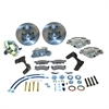SSBC A129 - Stainless Steel Brakes Single Piston Front Drum-to-Disc Brake Conversion Kit