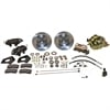 SSBC A153-1 - Stainless Steel Brakes Cast Iron Front 4-Piston Drum to Disc Brake Conversion Kit