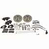 SSBC A153 - Stainless Steel Brakes Cast Iron Front 4-Piston Drum to Disc Brake Conversion Kit