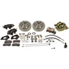 SSBC A154-1 - Stainless Steel Brakes Cast Iron Front 4-Piston Drum to Disc Brake Conversion Kit