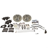 SSBC A154-4 - Stainless Steel Brakes Cast Iron Front 4-Piston Drum to Disc Brake Conversion Kit