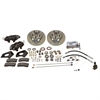 SSBC A154 - Stainless Steel Brakes Cast Iron Front 4-Piston Drum to Disc Brake Conversion Kit