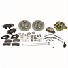SSBC A156-1 - Stainless Steel Brakes Cast Iron Front 4-Piston Drum to Disc Brake Conversion Kit
