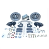 SSBC A156 - Stainless Steel Brakes Cast Iron Front 4-Piston Drum to Disc Brake Conversion Kit