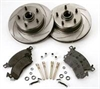 SSBC A2350012 - Stainless Steel Brakes Short Stop Rotor and Pad Upgrade Kits